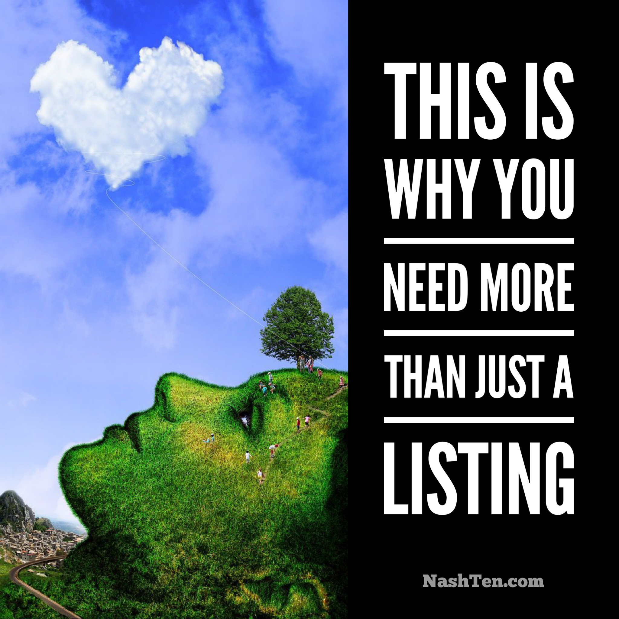 this is why you need more than just a listing