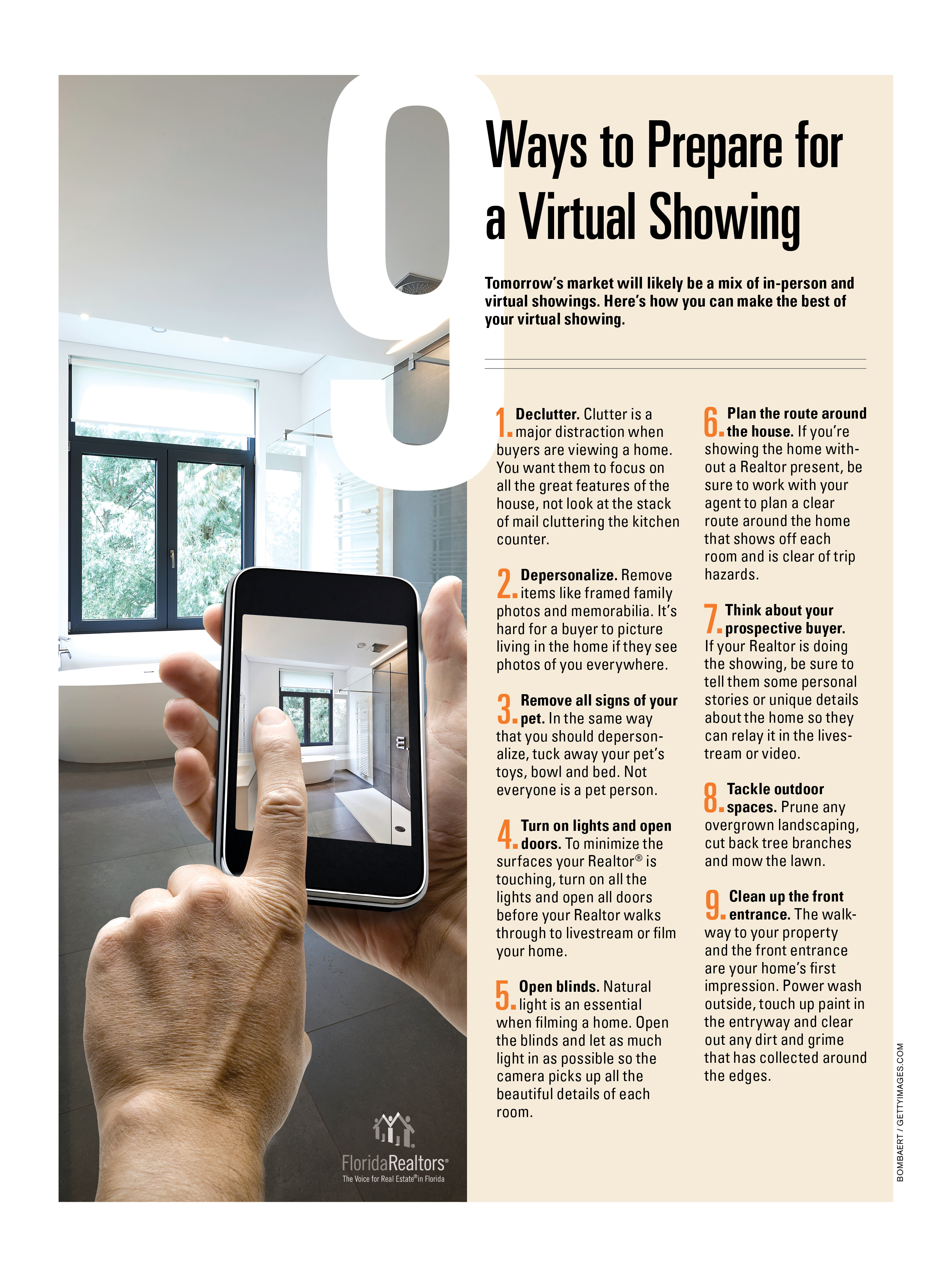 9 Ways to get ready for a Virtual Showing