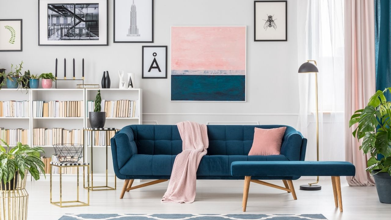 Freshen Up Your Room with Color Blocking