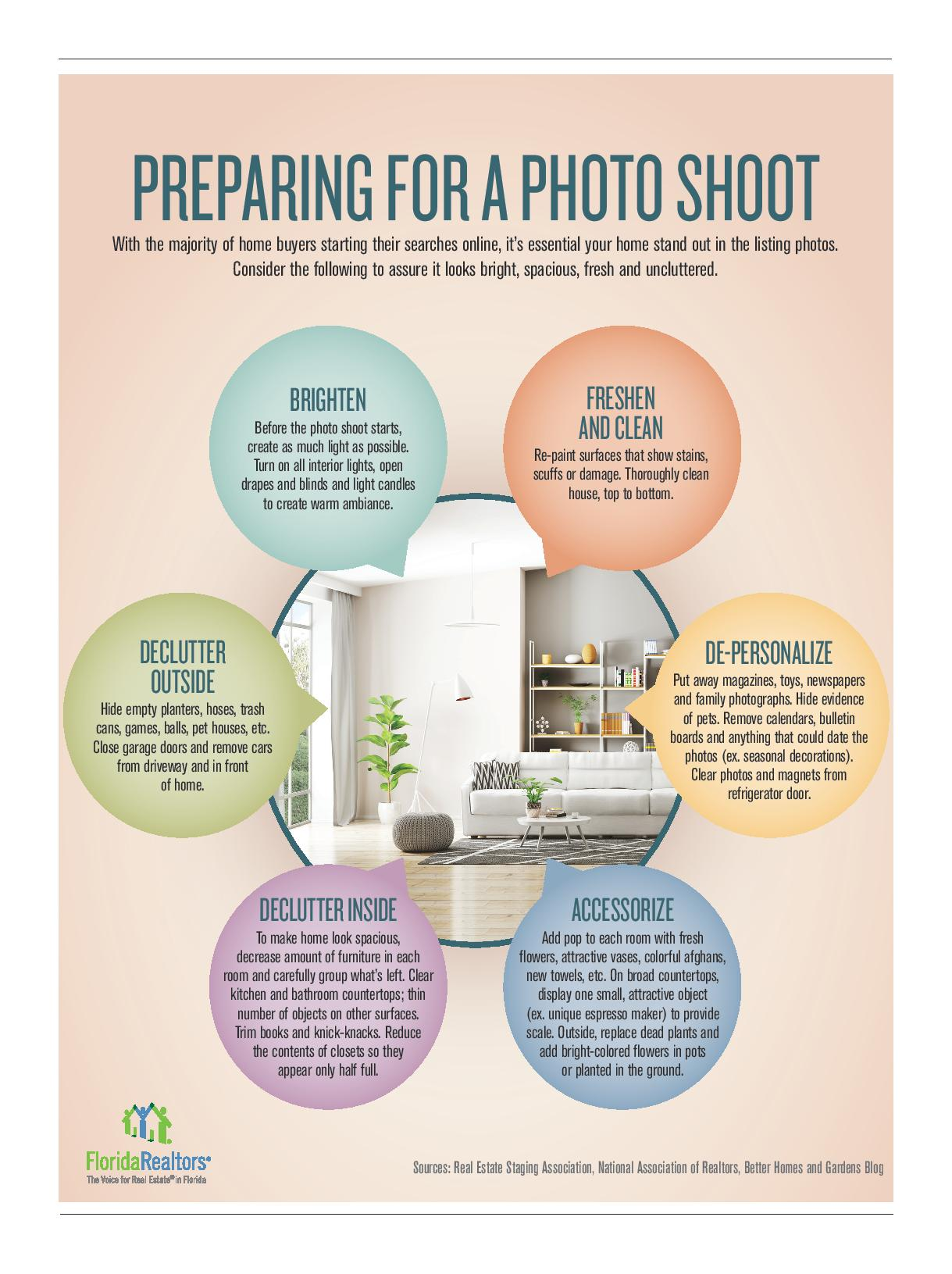 Tips to Prepare A Home For A Photo Shoot