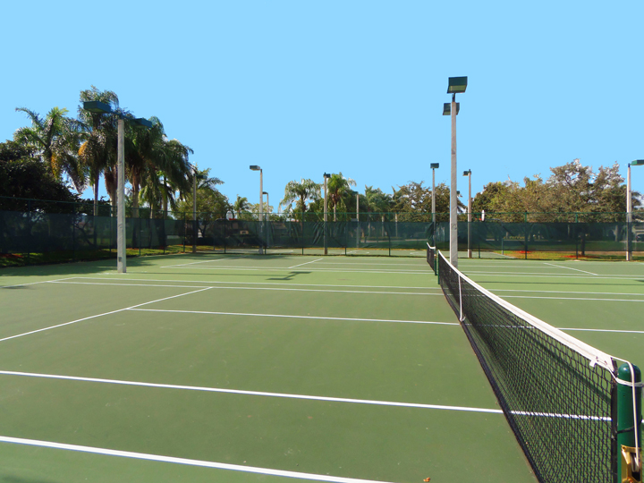 Grand Isles Tennis Court