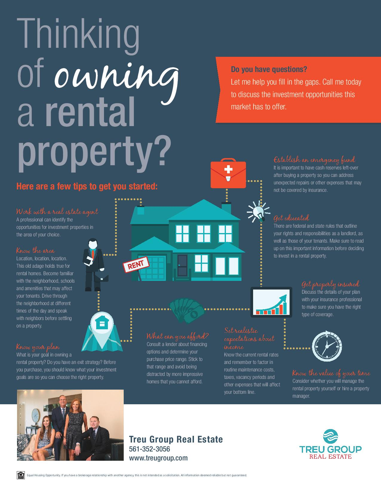 Tips To Get You Started Owning A Rental Property