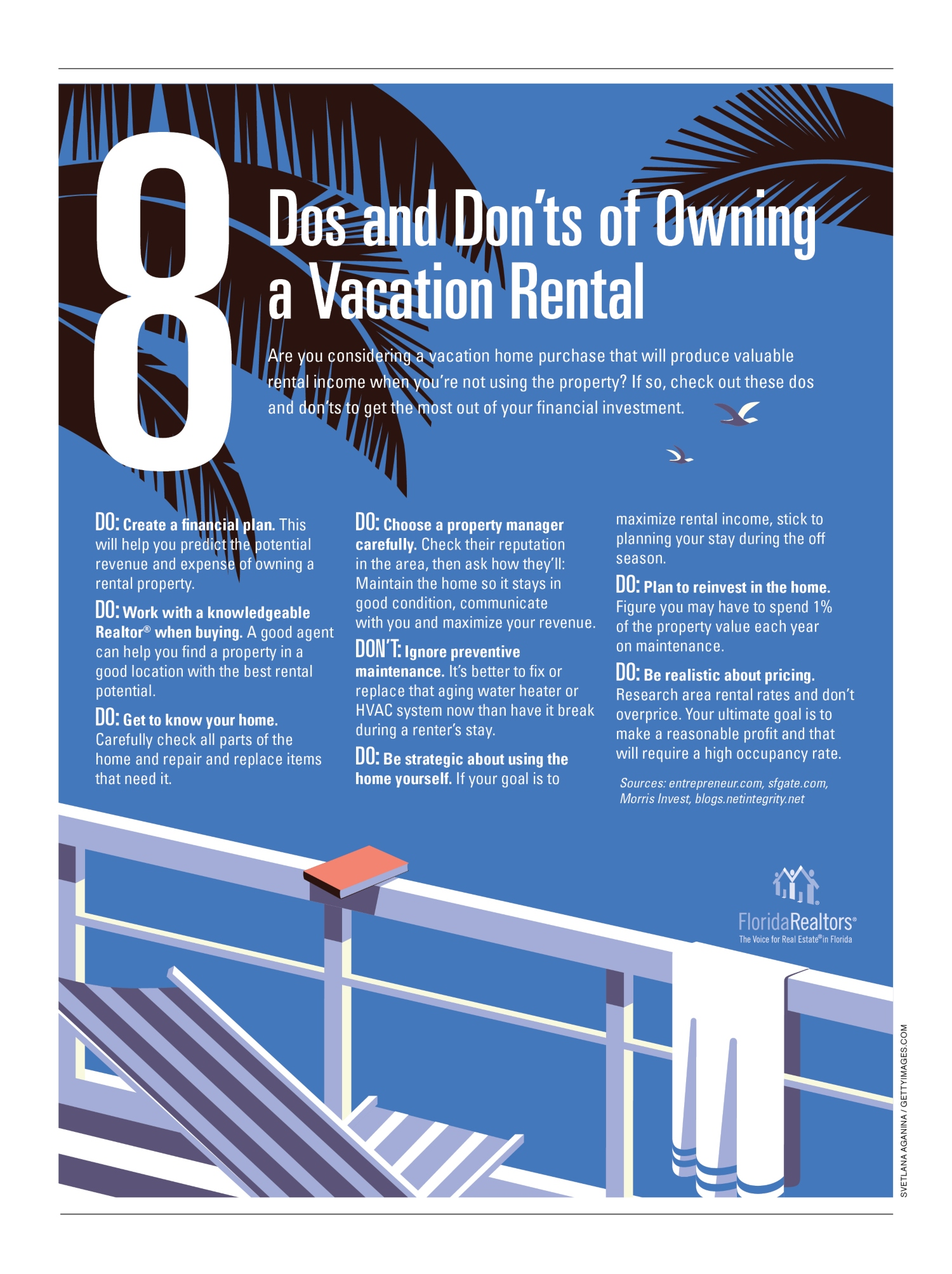 Do's and Don'ts Of Owning A Vacation Rental