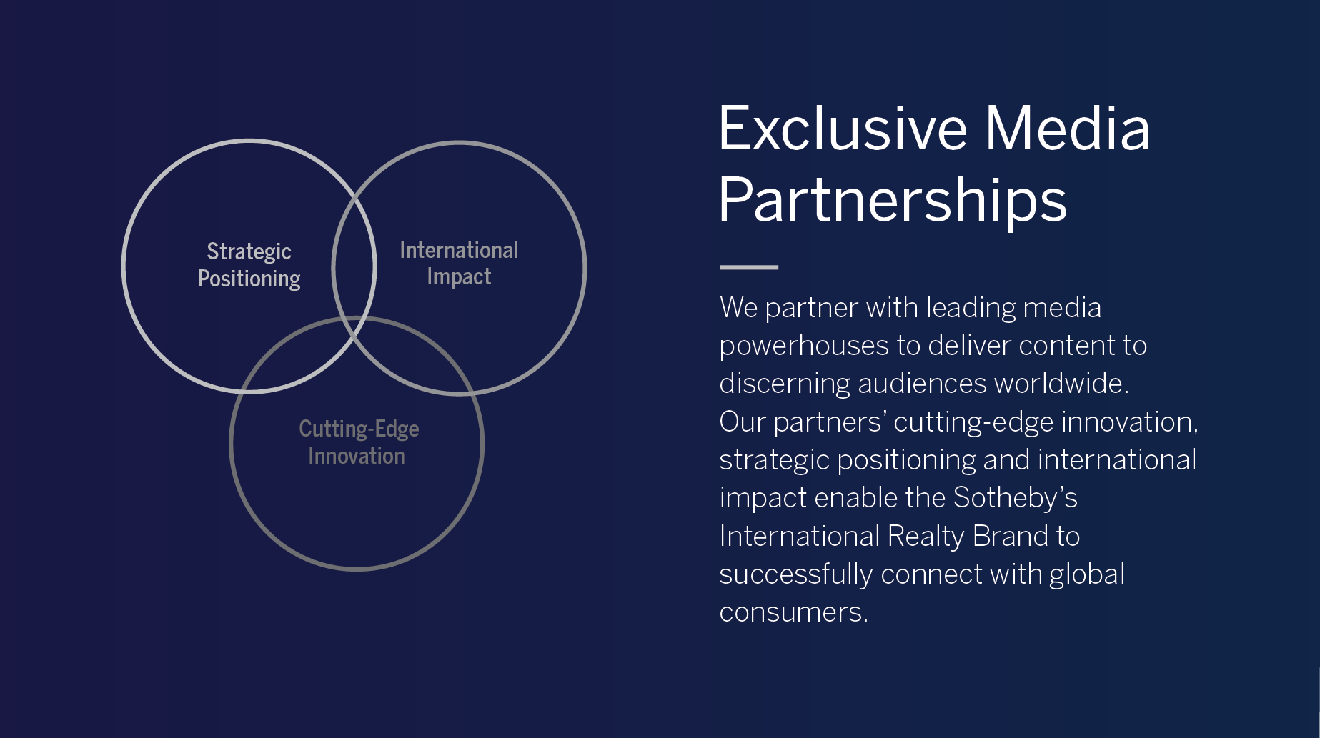 Exclusive Media Partnerships