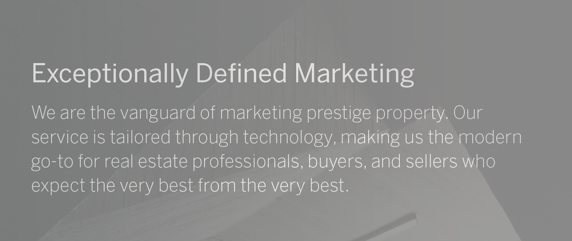 Exceptionally Defined Marketing