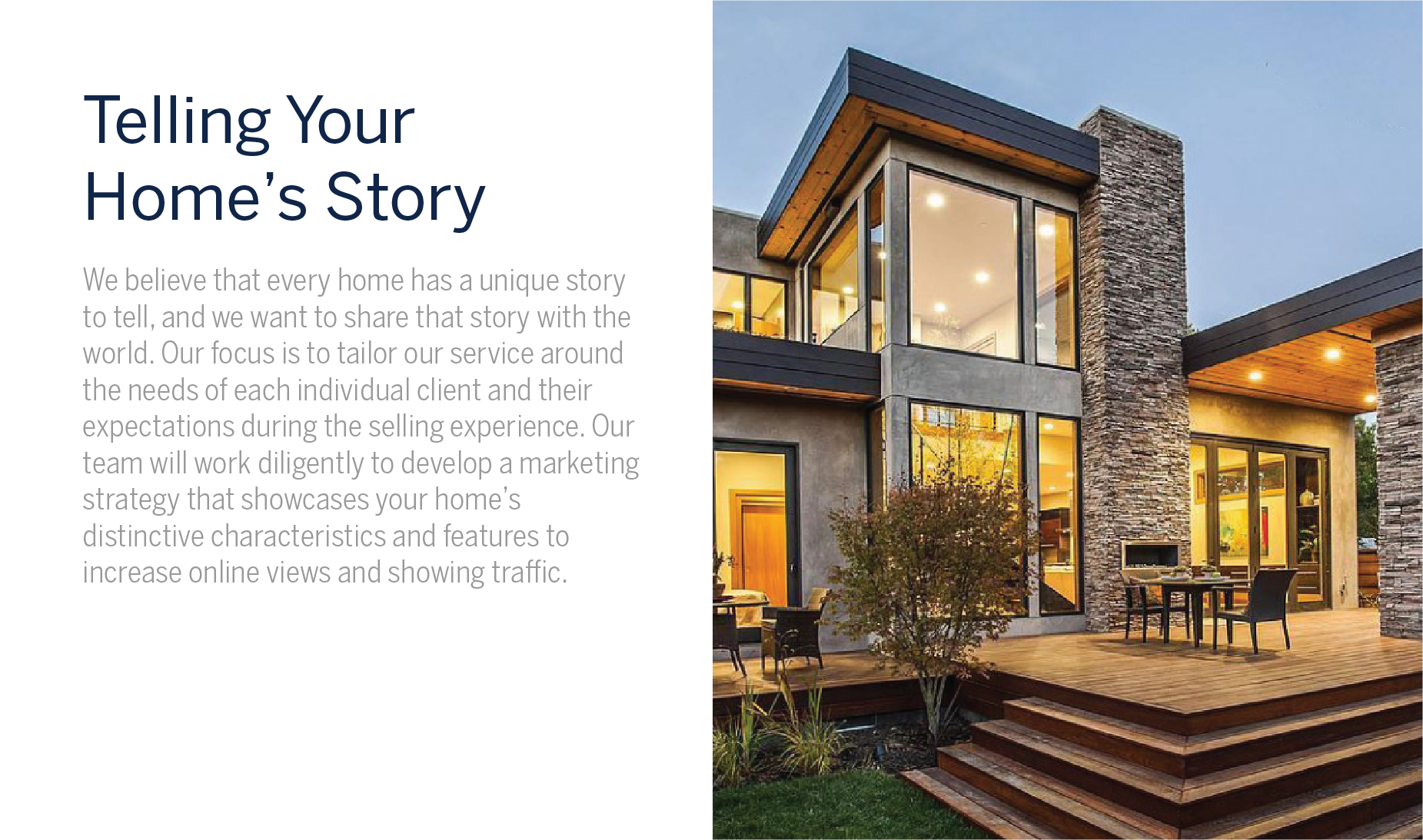 Telling Your Homes Story