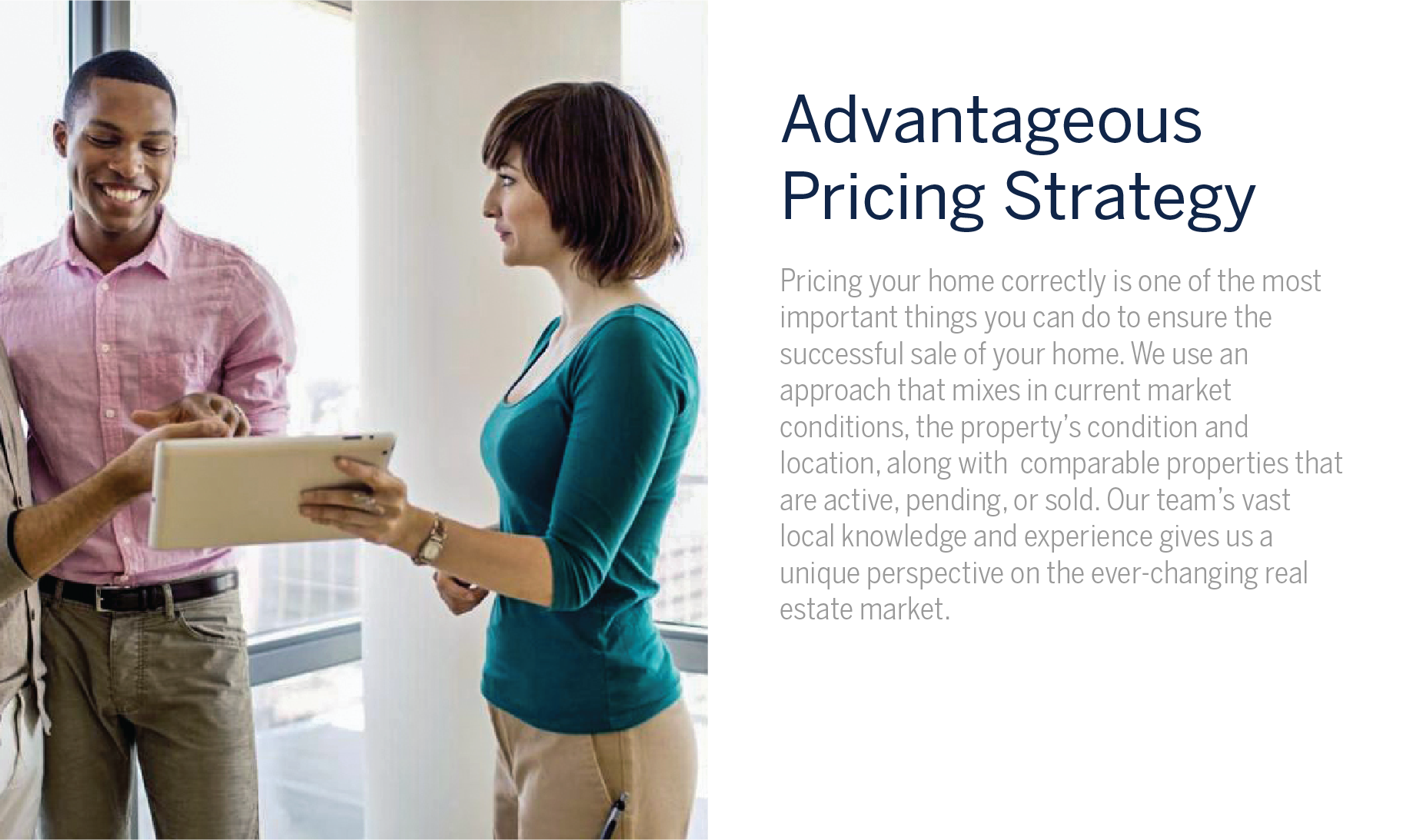 Advantages Pricing Strategy