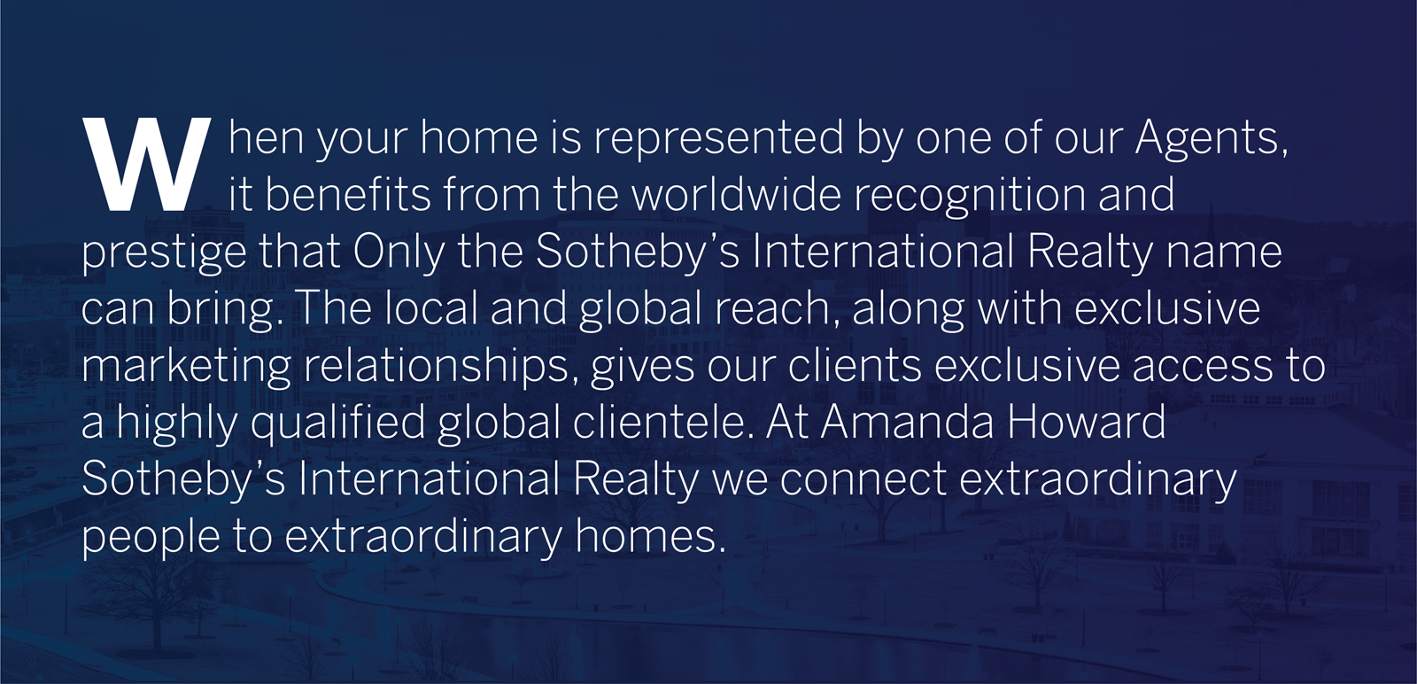 Selling a home with Amanda Howard Sotheby's International Realty