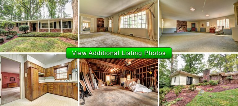 Collage of listing photos with link to 1716 Moonstone Ct online virtual tour slideshow.