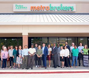 Metro Atlanta Home Group team photo with broker support staff.