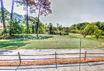A view of the golf course located in Ansley Park.