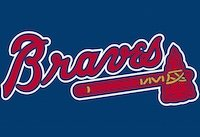 Small Atlanta Braves logo.