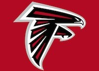 Small Atlanta Falcons logo.