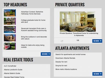 Atlanta real estate blog with news headlines, tools, and market updates.