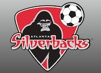Small Atlanta Silverbacks logo.