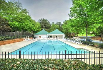The neighborhood pool at Avocet in Peachtree Corners, GA.