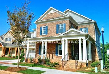 Newer homes for sale in the Bellmoore Park neighborhood.