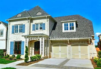 Luxury two-story home in the Bellmoore Park subdivision.