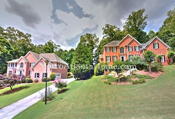 Luxury homes located in Roswell, GA's Brookfield Country Club.