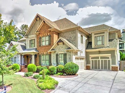 Beautiful two-story luxury home for sale in Brookhaven.
