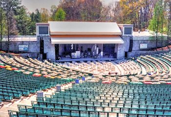 The Chastain Park Amphitheater in Atlanta, GA.
