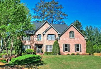 Gorgeous brick home located in the Doublegate subdivision.