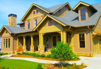 A large craftsman style home for sale in the city of Duluth, GA.