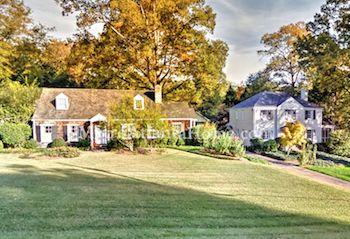 Historic homes in the Haynes Manor neighborhood.