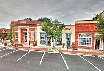 Downtown Historic Norcross with shops and restaurants.