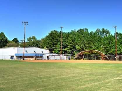 Honeysuckle Park baseball field and Fleming Arena in Doraville, GA.