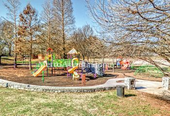 A community playground and park located in Kirkwood.