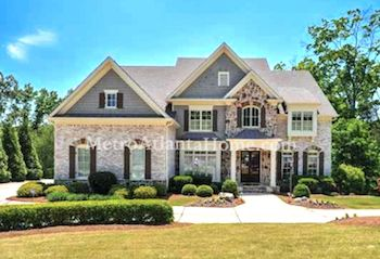 A luxury home in the Lakeside At Ansley neighborhood.