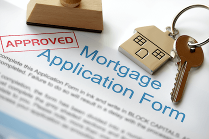 A standard mortgage application form for buyers to obtain loan pre-approval.