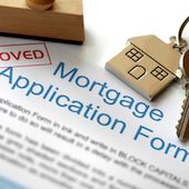 An image of an approved mortgage application during the financing contingency period.