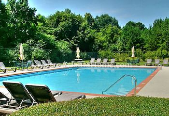 The North Farm neighborhood pool in Alpharetta, GA.