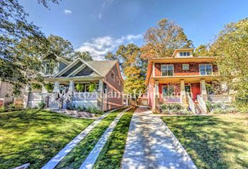 Homes for sale in the Oakhurst neighborhood of Decatur, GA.
