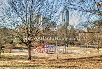 An Atlanta city park located in the Old Fourth Ward neighborhood.