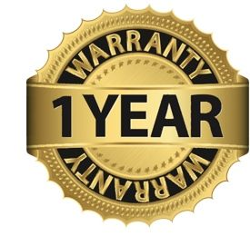 Certified one year home warranty provided by the Seller.