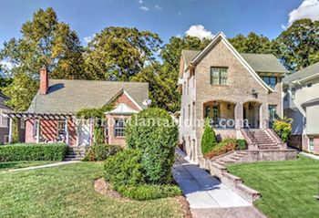 Two beautifully renovated Peachtree Hills homes.