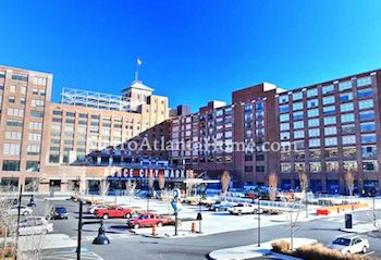 Ponce City Market mixed-use development in Atlanta's Old Fourth Ward.