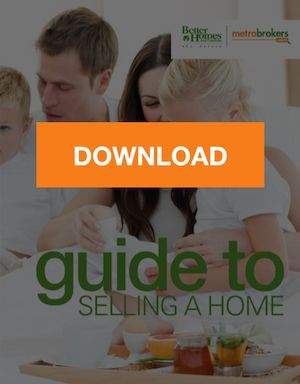The cover of a homebuyer's guide with a download button.