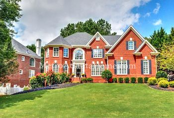 Luxury real estate located in Johns Creek's Sugar Mill community.