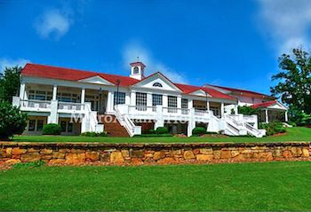 The clubhouse at Sugarloaf Country Club.