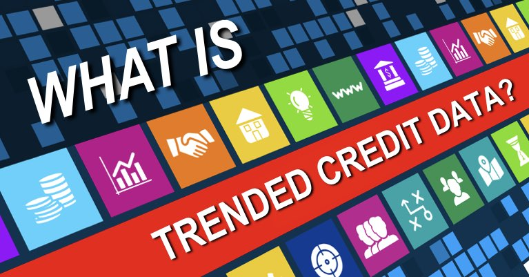 What is trended credit data?