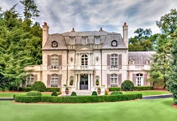 A massive estate located in Buckhead's Tuxedo Park.