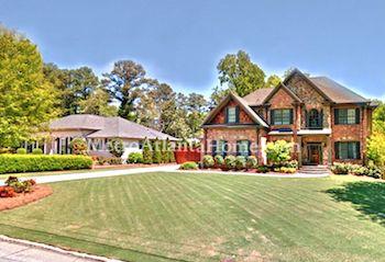 Homes for sale in Dunwoody's Village Springs neighborhood.
