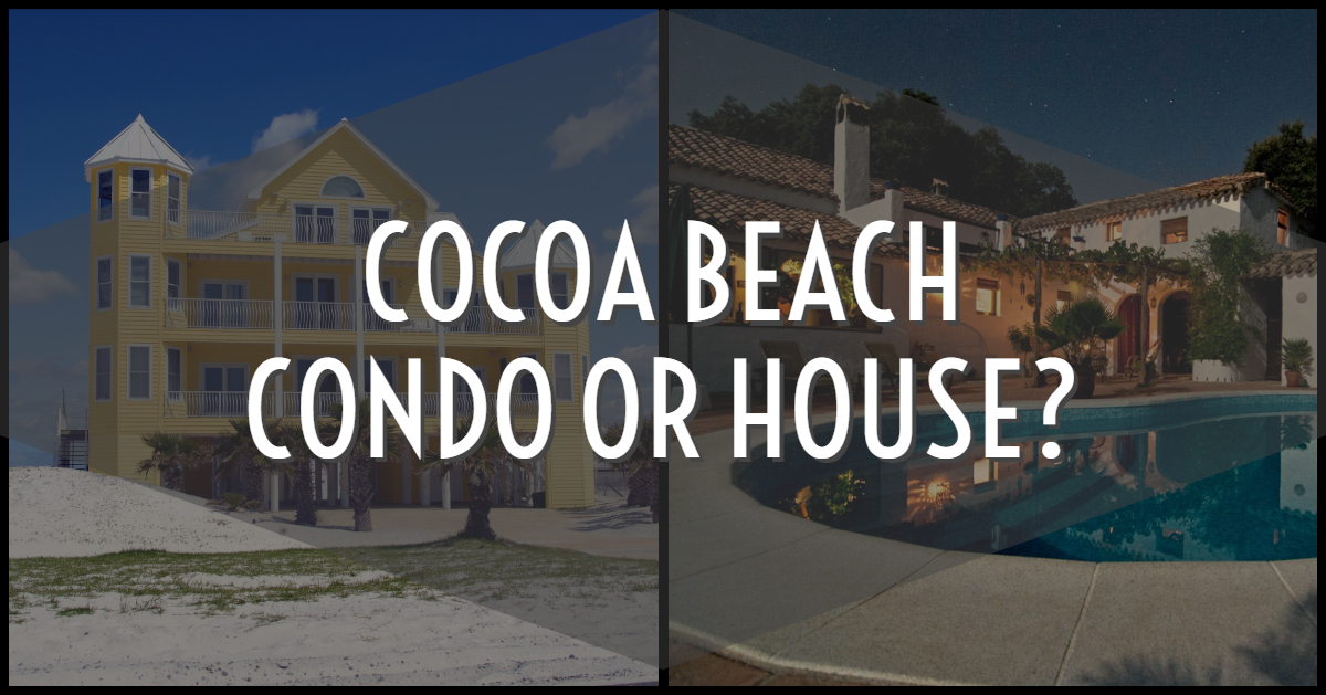 Cocoa Beach Condo, Or House?