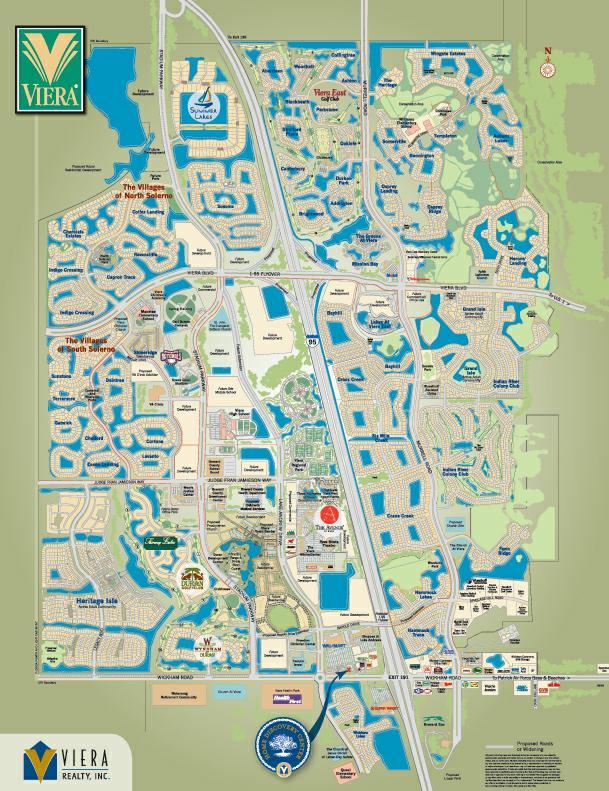 Viera Community Map Barbara Zorn's Copy