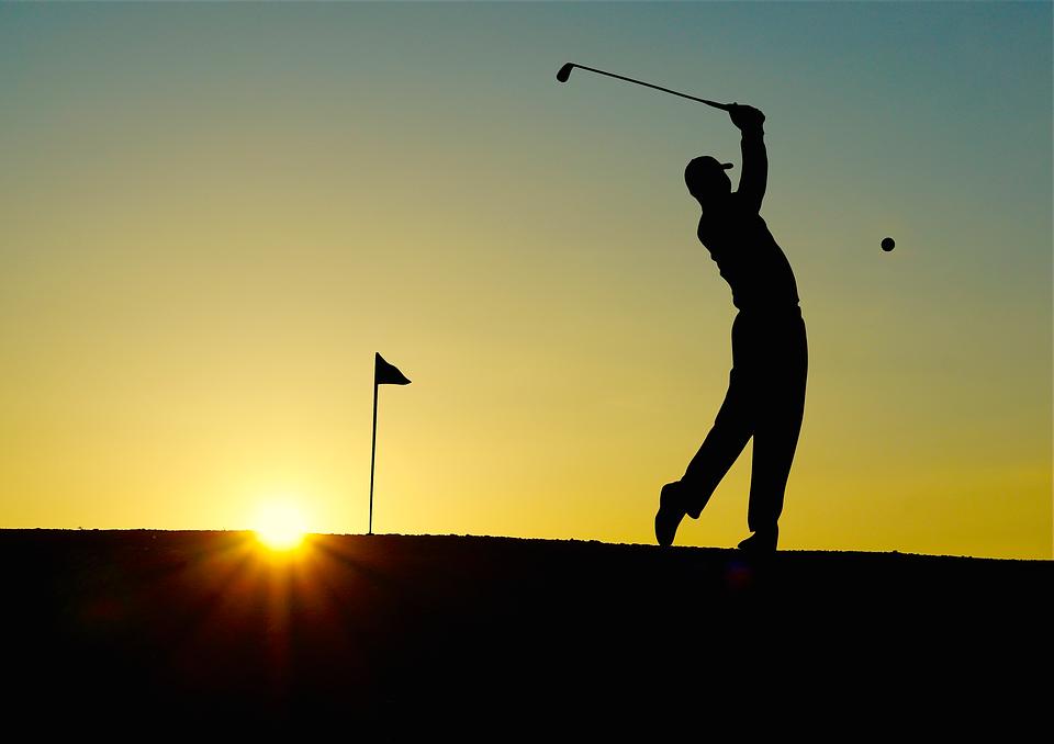 Golfing in Viera Florida