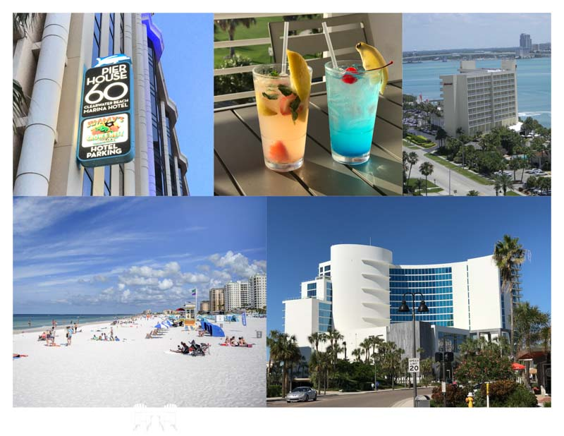 Clearwater Beach Hotel Collage